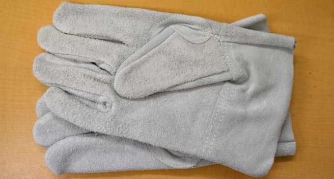 プレゼント品(厚手皮手袋)