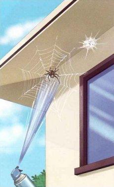 クモの巣消滅ジェット