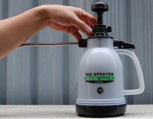 殺虫剤・殺菌剤・消臭剤の噴霧に最適な噴霧器 ダイヤスプレー シースルーNo.4130