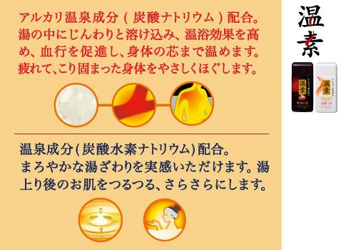 アース製薬 温素[ボトル入り] 琥珀の湯