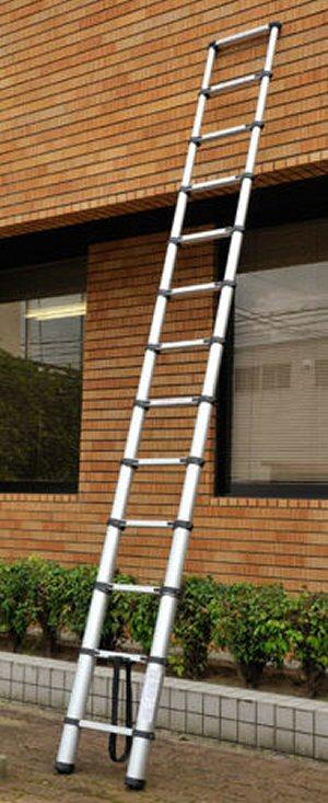 持ち運び便利な伸縮梯子・伸縮はしごPTHの商品特長