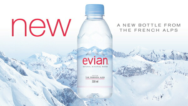 Senmonten Nakae Evian 330 Ml Pet 24 Pieces Evian Mineral