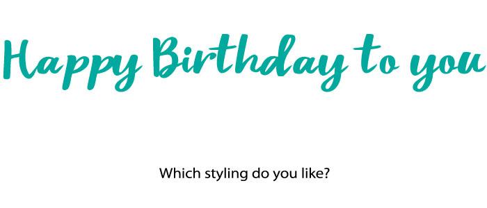 お誕生日パーティーにかわいいパーティーグッズのセット
