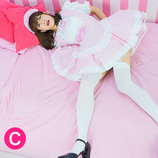 ラフィーネメイド服(パステル3色)