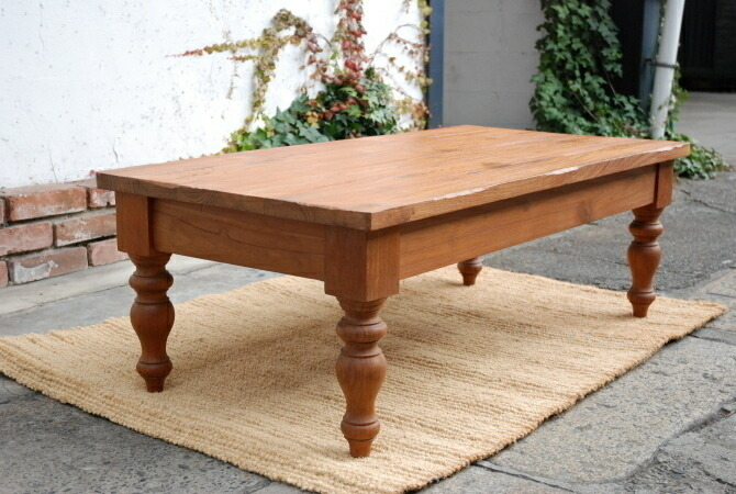 In The Popular Old Teak Teak Old Wood So I Made A Nice Coffee Table.