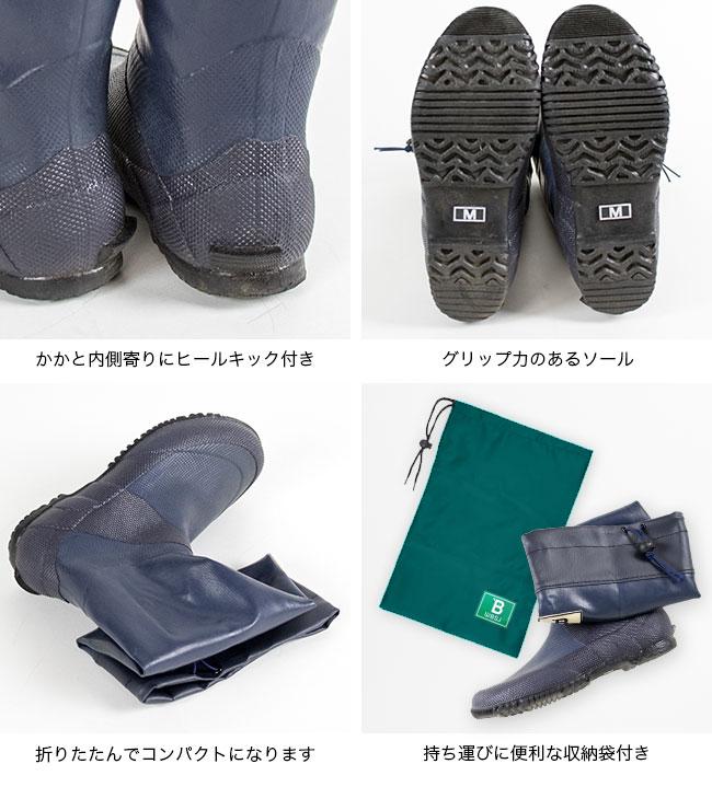 日本野鳥の会 長靴 レインブーツ バードウォッチング長靴 雨 フェス