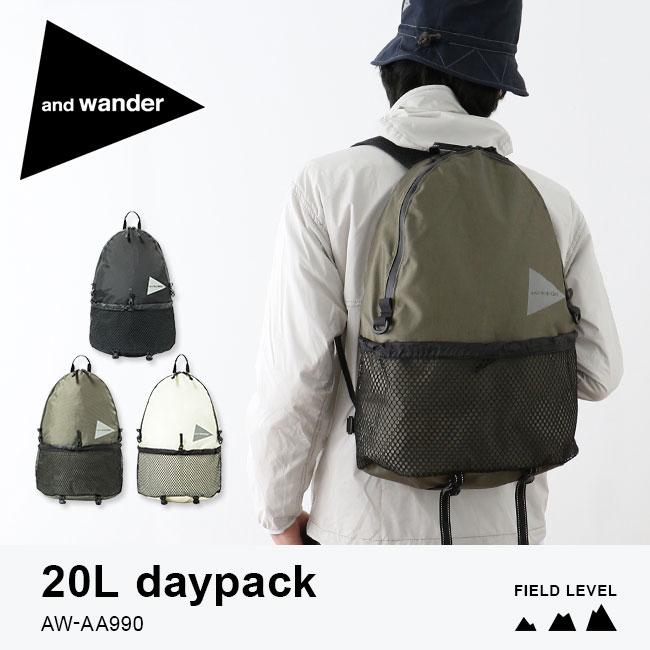 dce9efa8d61e 楽天市場】アンドワンダー 20L デイパック and wander 20L daypack ...