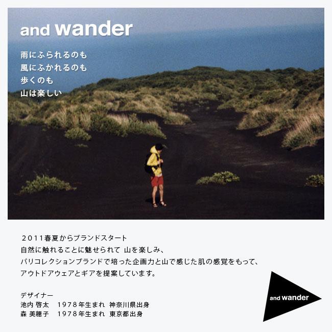 雨にふられるのも風にふかれるのも歩くのも山は楽しい 2011春夏からブランドスタート 自然に触れることに魅せられて 山を楽しみ、 パリコレクションブランドで培った企画力と山で感じた肌の感覚をもって、アウトドアウェアとギアを提案しています。デザイナー 池内 啓太 1978年生まれ  神奈川県出身 森 美穂子 1978年生まれ  東京都出身