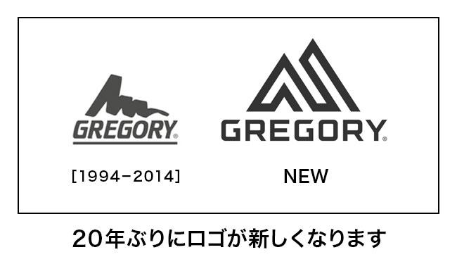 GREGORY(グレゴリー)Z25 ゼット25 20年ぶりにロゴが新しくなります
