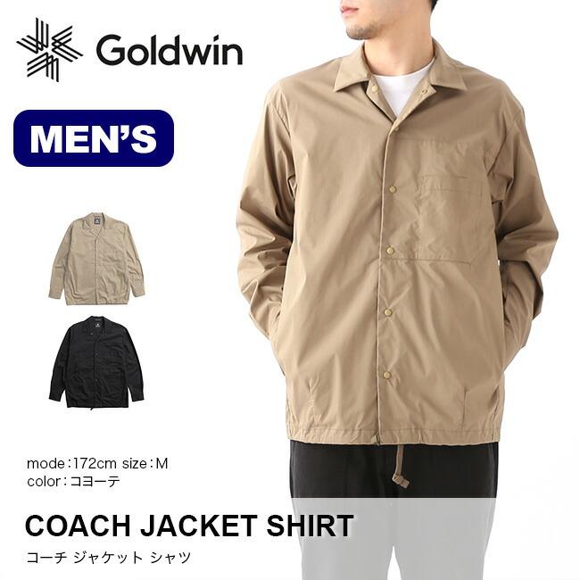 fa4f32e793dc 楽天市場】ゴールドウィン コーチジャケットシャツ GOLDWIN COACH JACKET ...