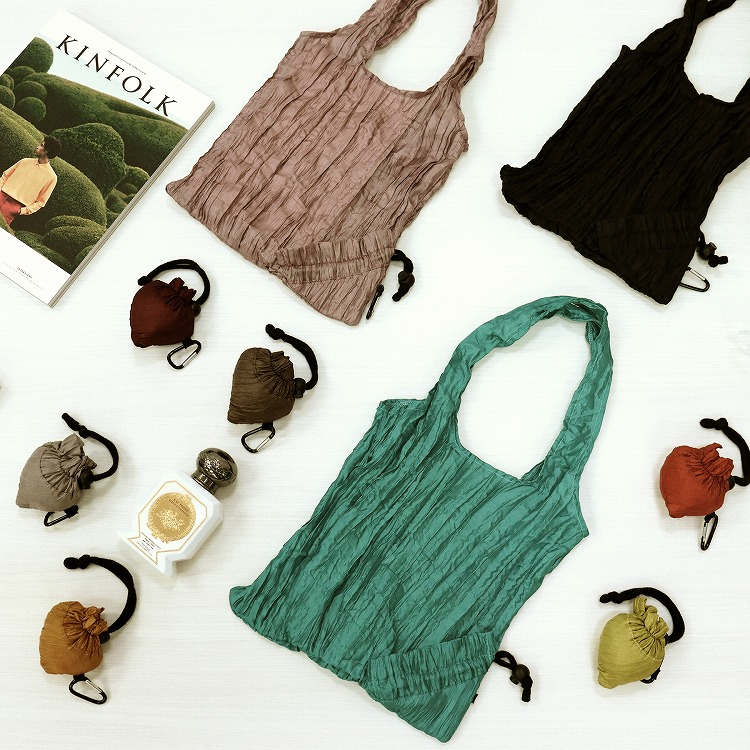 浴衣専門店 浴衣 ゆかた ユカタ yukata  Capri モダン エコバッグ 雑貨 お買い物バッグ レジ袋 鞄 コンパクト 折りたたみ 大容量