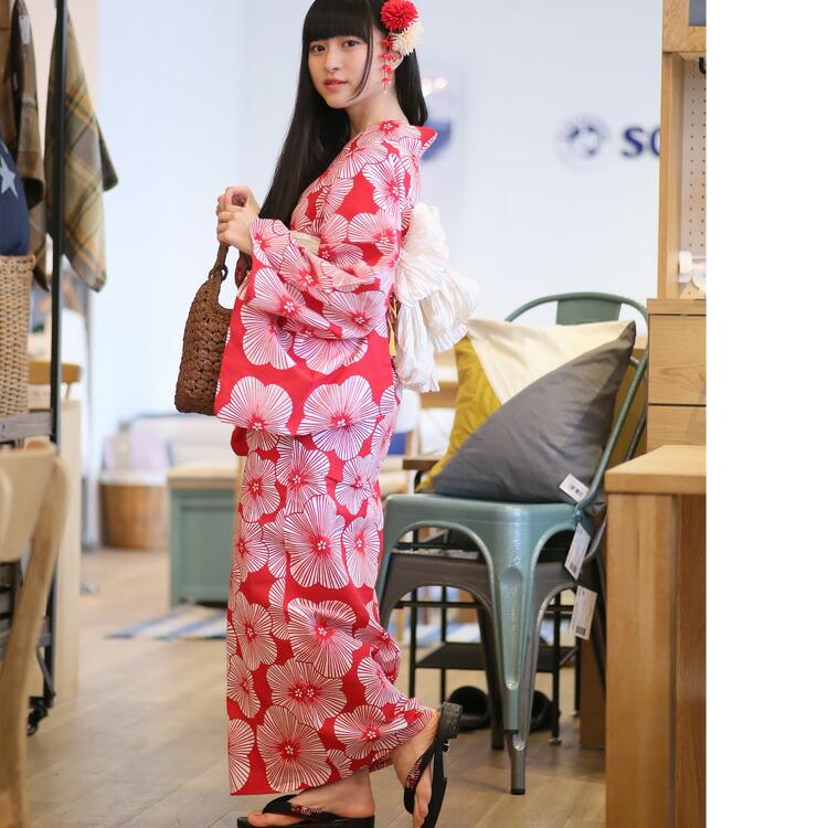 浴衣専門店カプリ楽天-高級変わり織り浴衣3点セット-綿麻・麻混