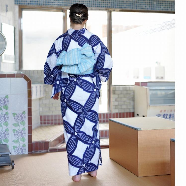 ●浴衣専門店カプリ楽天-高級変わり織り浴衣3点セット-有松絞り浴衣・日本製・一生物・ハンドメイド