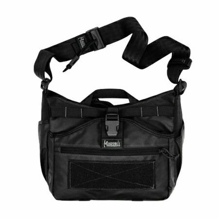 MAGFORCE(マグフォース)Gemini Sling Bag Black [PVC加工500Dナイロン][MF-0498]【送料無料】