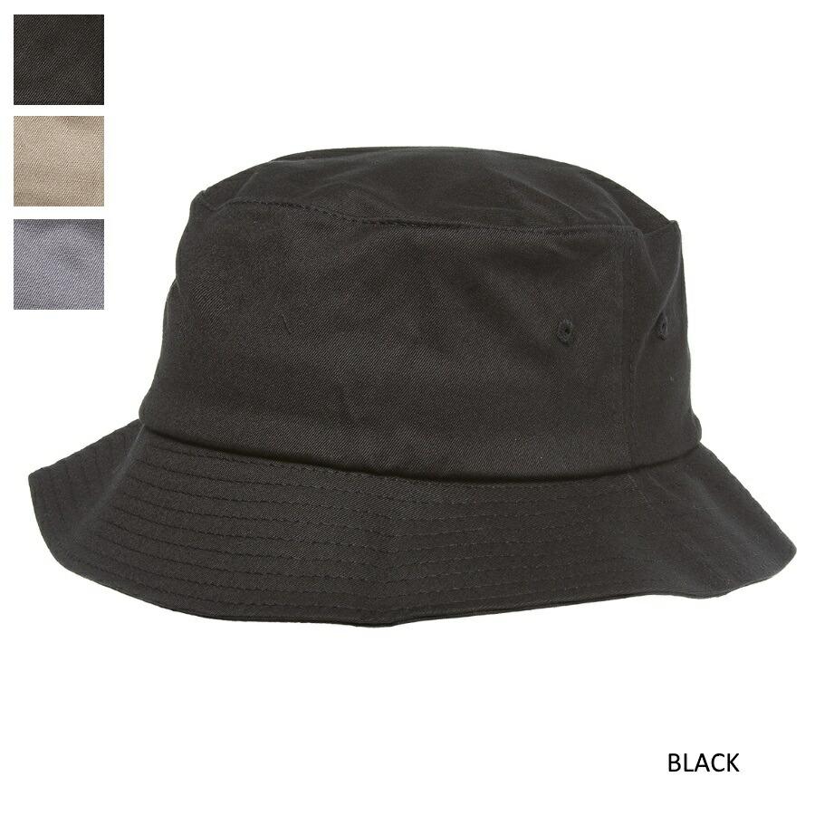 YUPOONG(ユーポン)FLEXFIT  BUCKET HAT バケットハット[3色]
