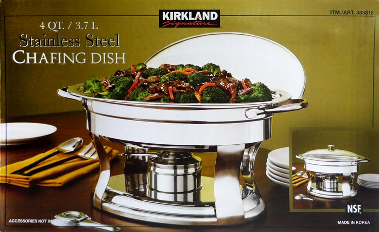 1 2 size chafer pan pack catering hotel chafing dish half pans - Chaffing Dish