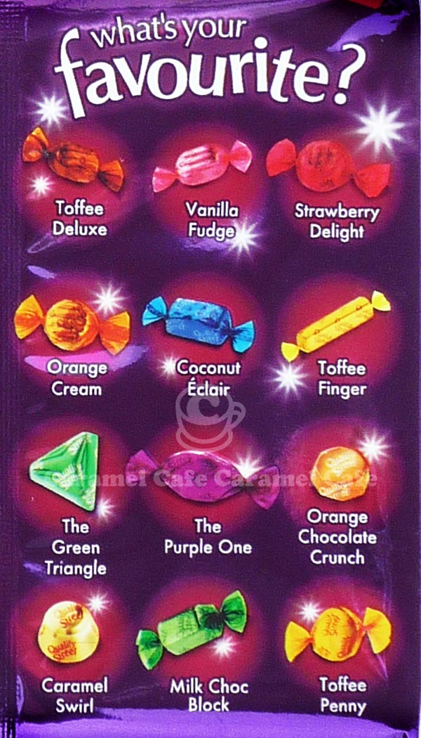 Quality Street Flavours Guide