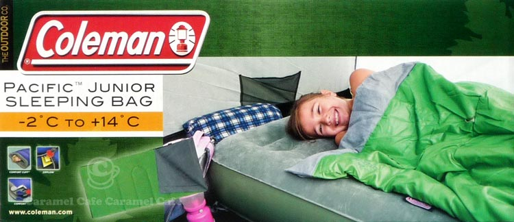 Made In China Coleman Jr For Sleeping Bags Bag Green Envelope Type 2 Times Up To 14 Degreeific Junior