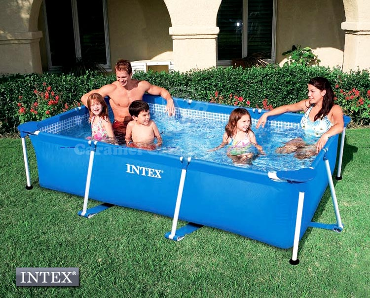 Caramelcafe product no 58981 family size frame swimming - How far is 50 lengths of a swimming pool ...