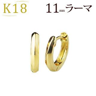 K18フープピアス