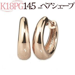 K18PGフープピアス