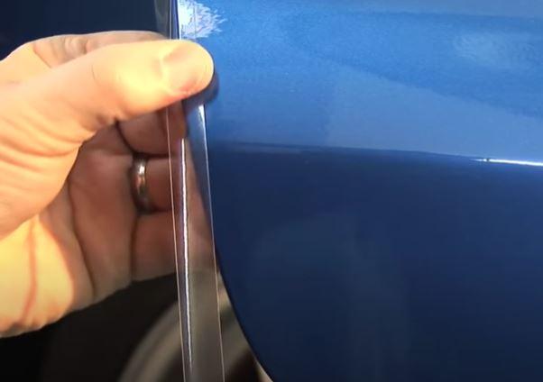 車 ドア ドアエッジ プロテクター プロテクションフィルム