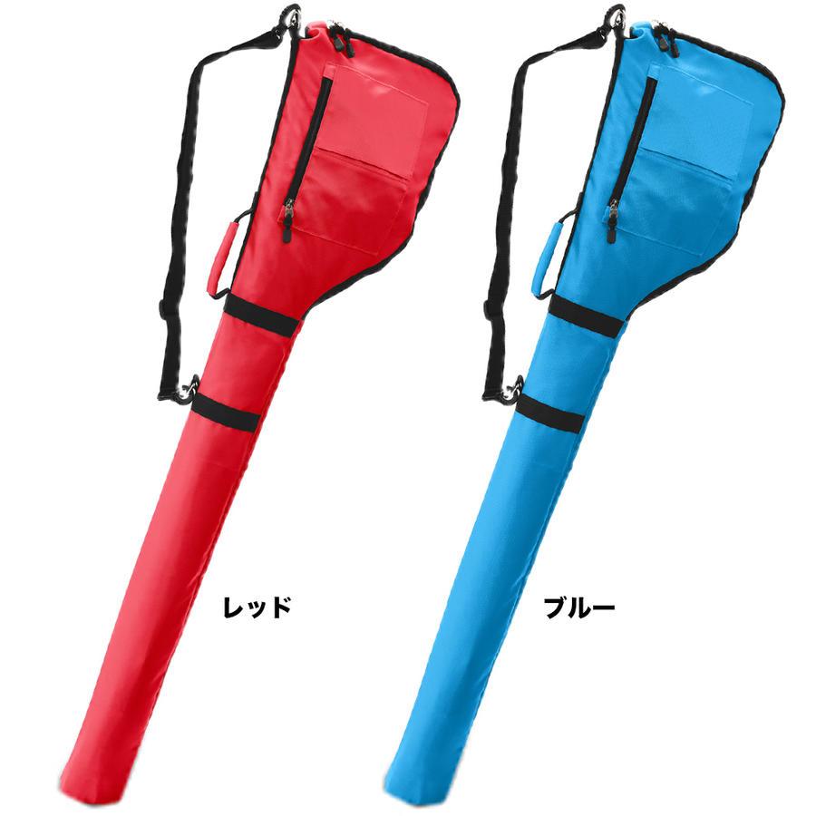 レッドとブルーのゴルフバッグ商品画像