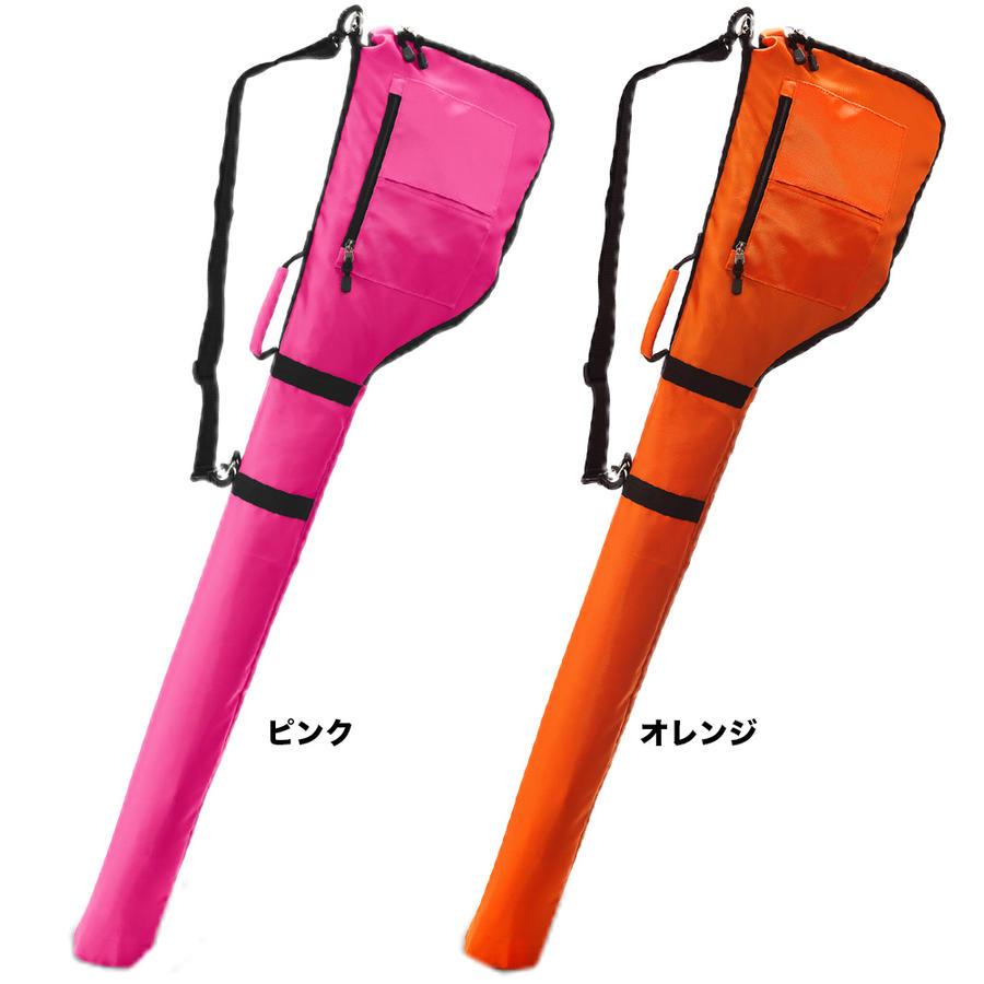 ピンクとオレンジのゴルフバッグ商品画像