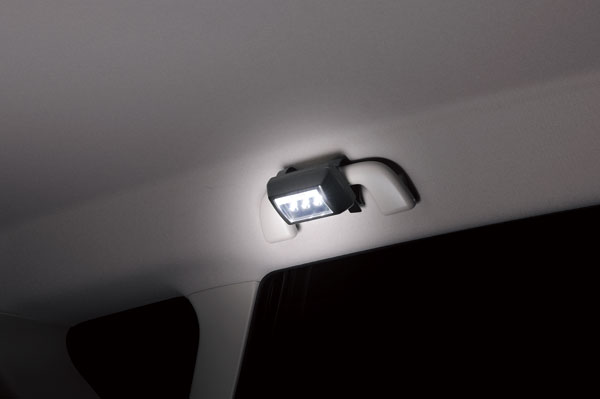 電池式 LED|車 LED|カーメイト CZ329 LEDライト マルチタイプ ブラック