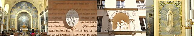 パリ奇跡のメダイ教会の不思議のメダイ
