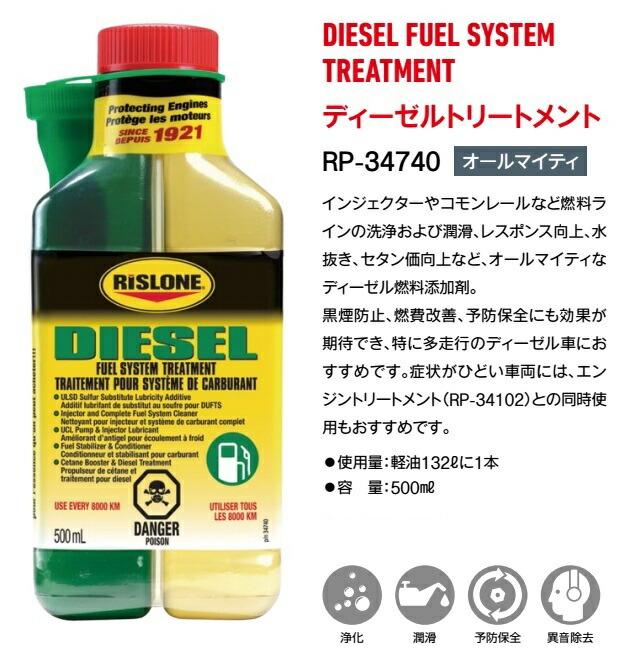RISLONE (RISURON) diesel fuel system treatment RP-34740