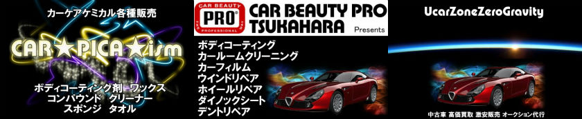 CARPICAism CAR-BEAUTY-PRO-TSUKAHARA UcarZone-ZeroGravity