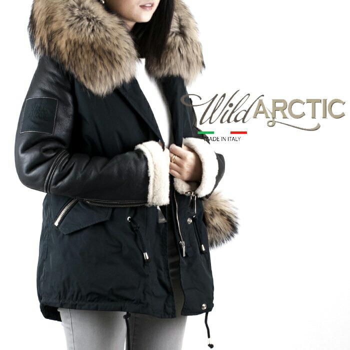WILD ARCTIC[ワイルドアークティック]N3Bモチーフコンビネーションショートジャケット