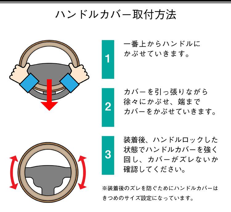 ハンドル装着方法