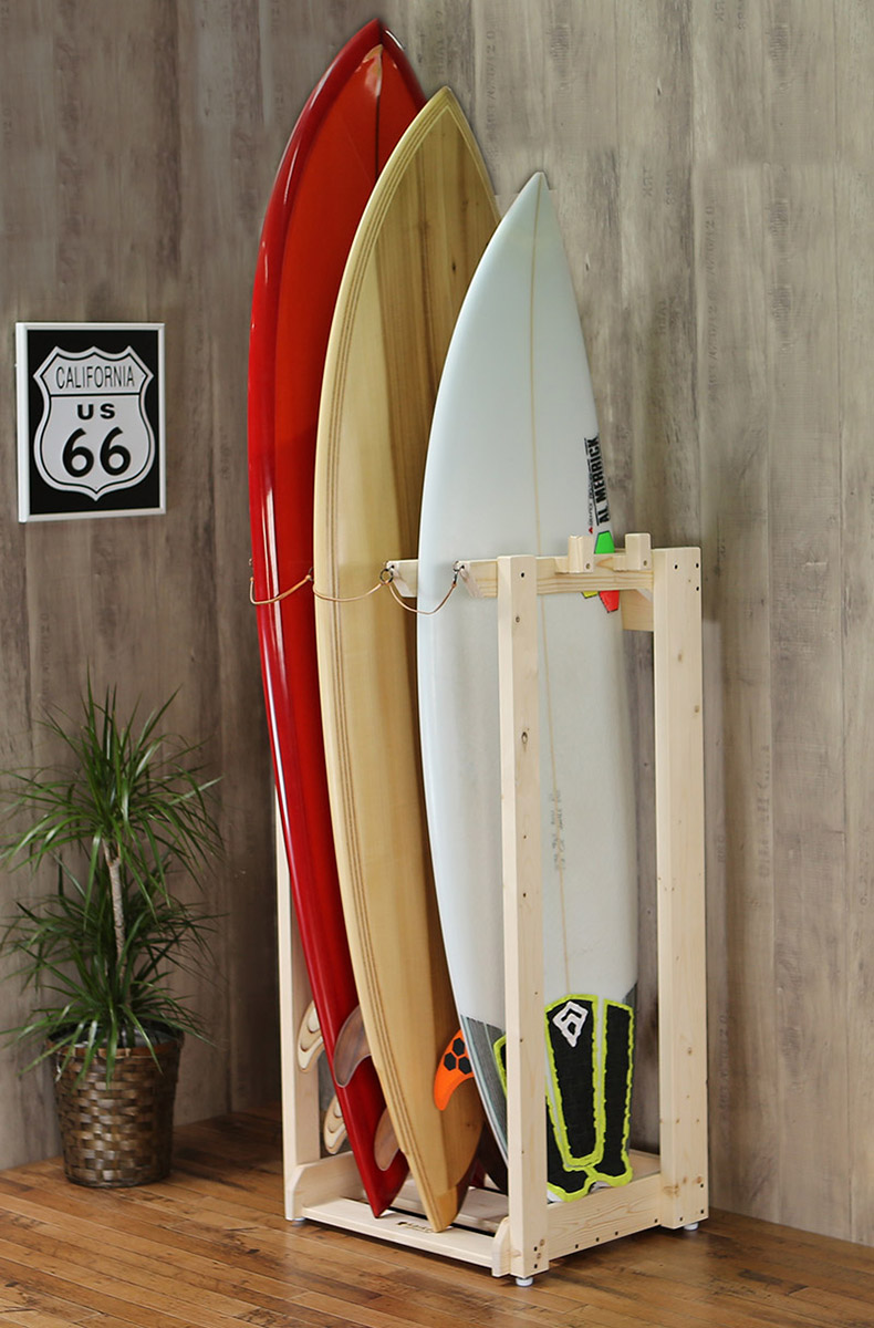 Perfect Surfboard Rack (three For)