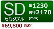 セミダブルサイズ/COASTAL (コースタル) ローベッド
