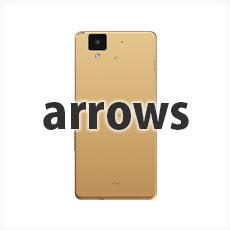 arrows ワンポイント 手帳型スマホケース