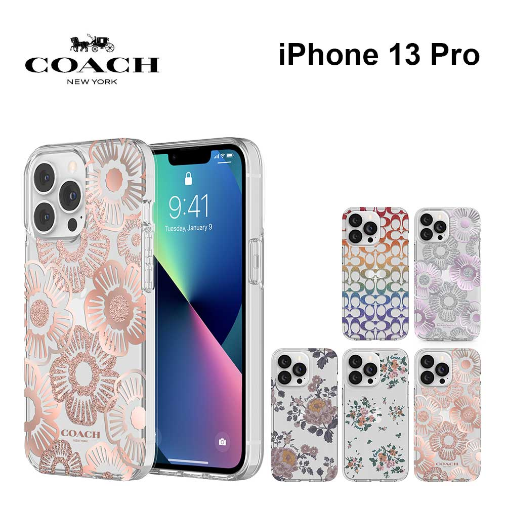 Coach iPhone13Pro ケース コーチ Protective Case
