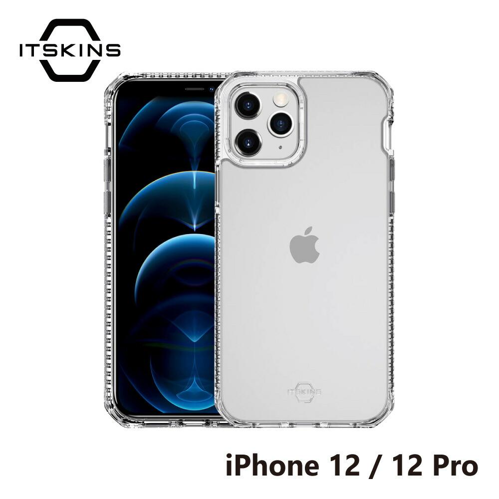 iPhone12 iPhone12Pro クリアケース ITSKINS Hybrid CLEAR case Transparent