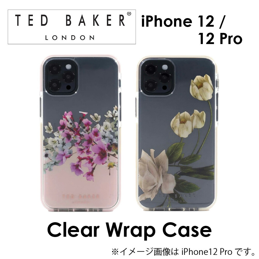 Ted Baker iphone12 12pro ケース テッドベーカー Antishock CASE