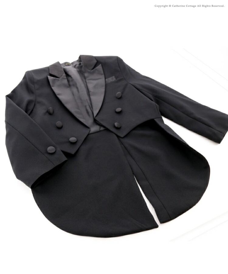 男児燕尾ジャケットモデル画像