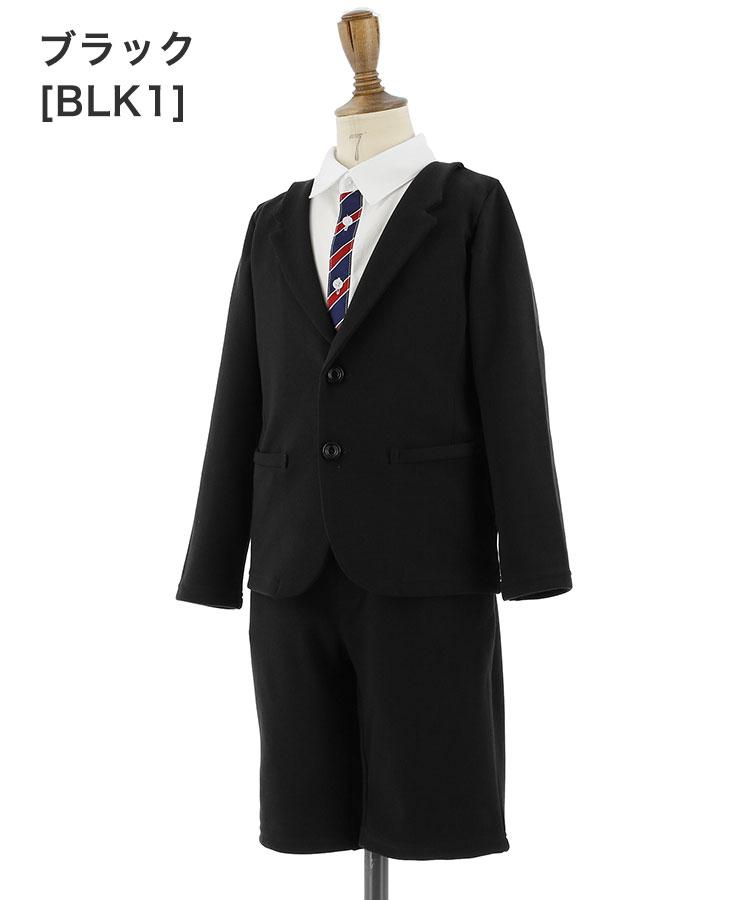 黒無地のスーツセット