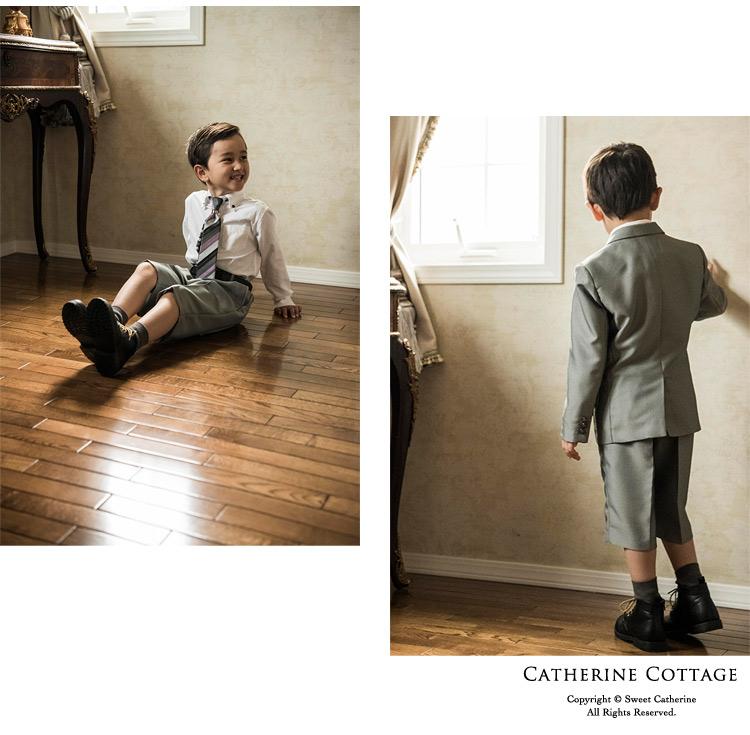 入学式 男の子 スーツ