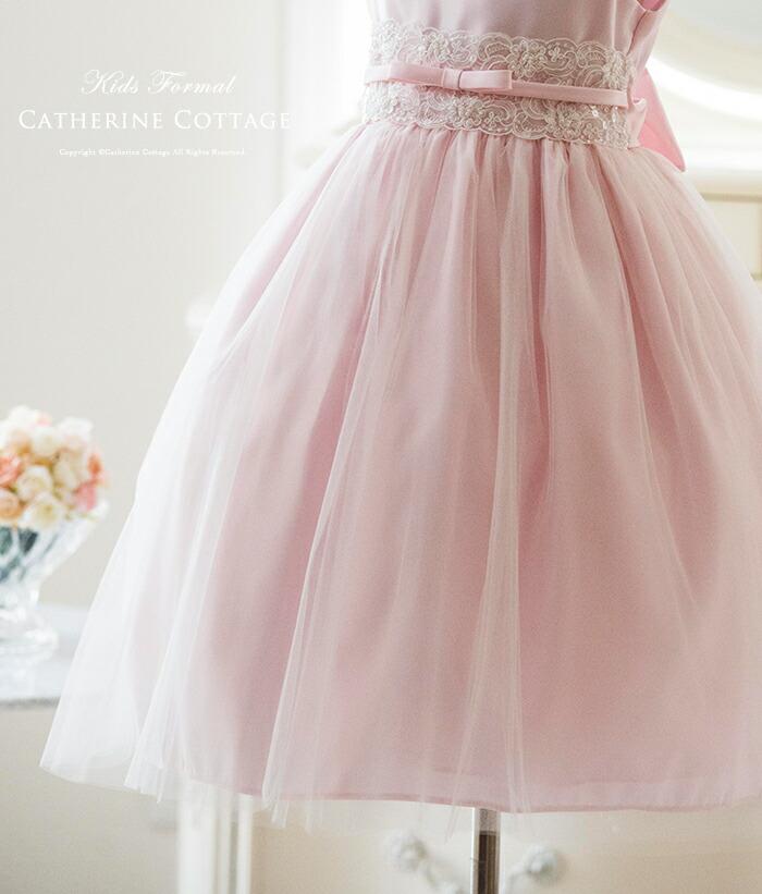 子供ドレス パニエ内臓 キッズ お姫様 ドレス 衣装