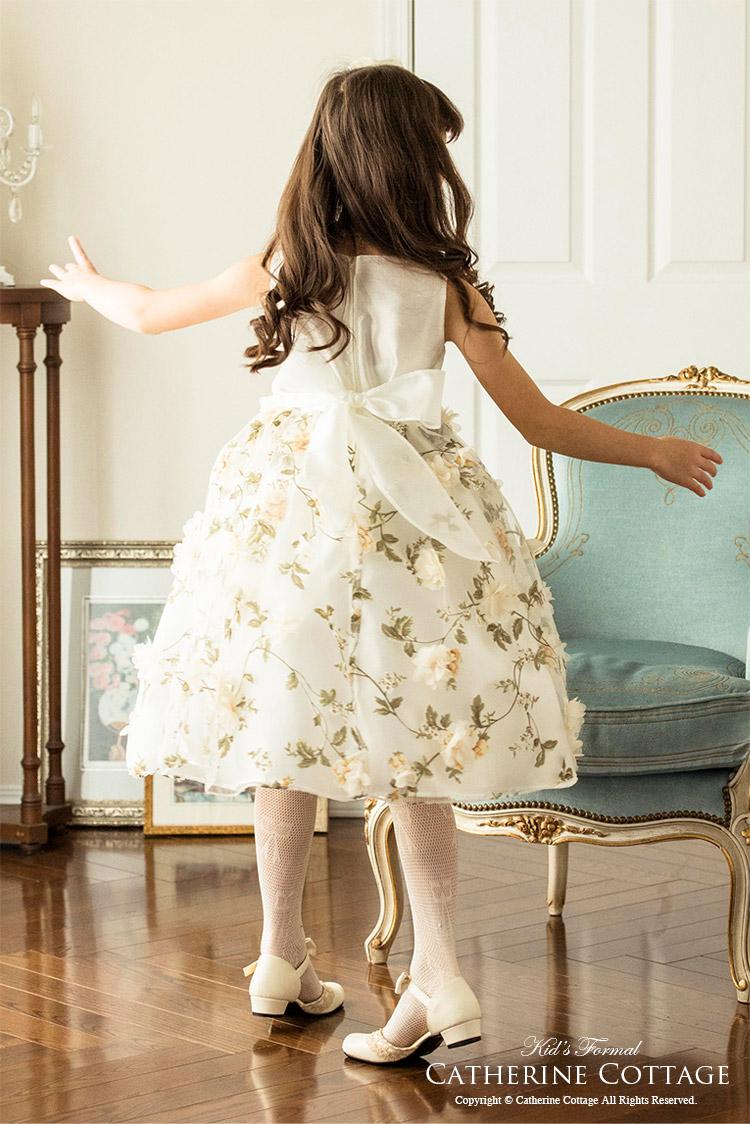 子どもドレス 子供ドレス 発表会 ピアノ 発表会 花柄 ジュニアドレス 衣装