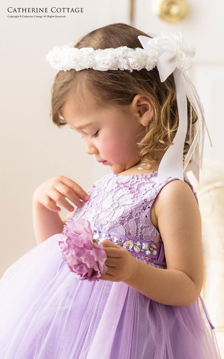 ベビードレス 出産祝い 赤ちゃん 結婚式 白 紫 ピンク 紺 緑 ミントグリーン ネイビー ライラック