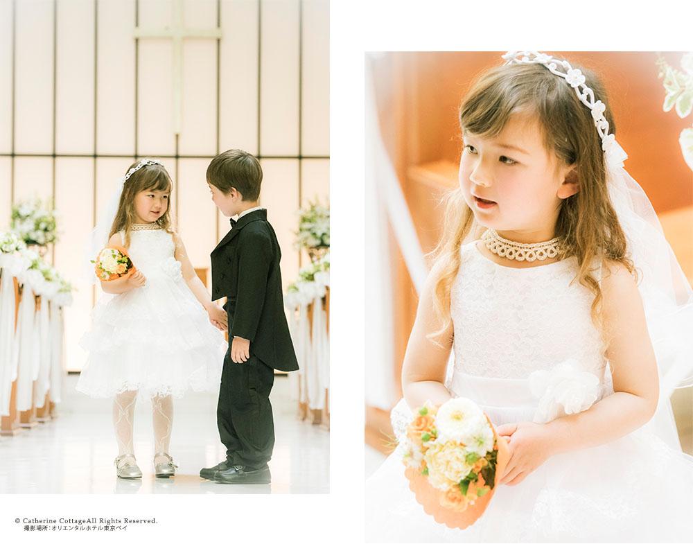 お花レースと三段チュールフリルのふんわりプリンセスドレス キッズフォーマルと子供服の通販キャサリンコテージ