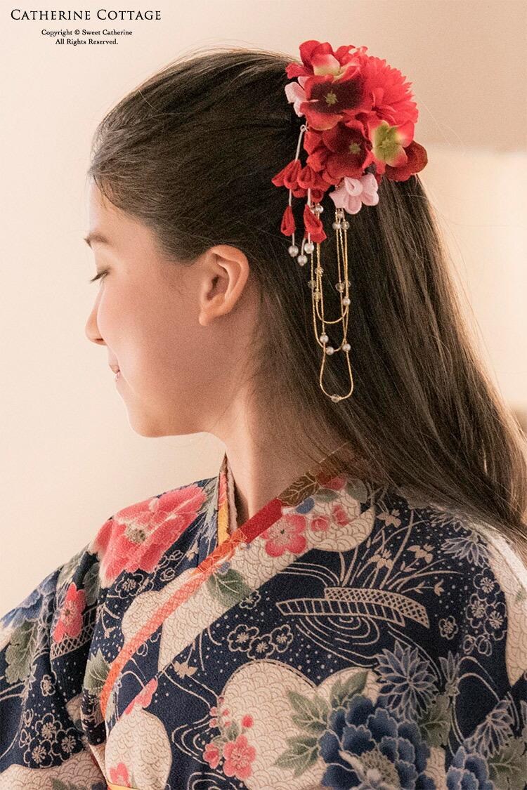 卒業式 小学校 袴 髪飾り