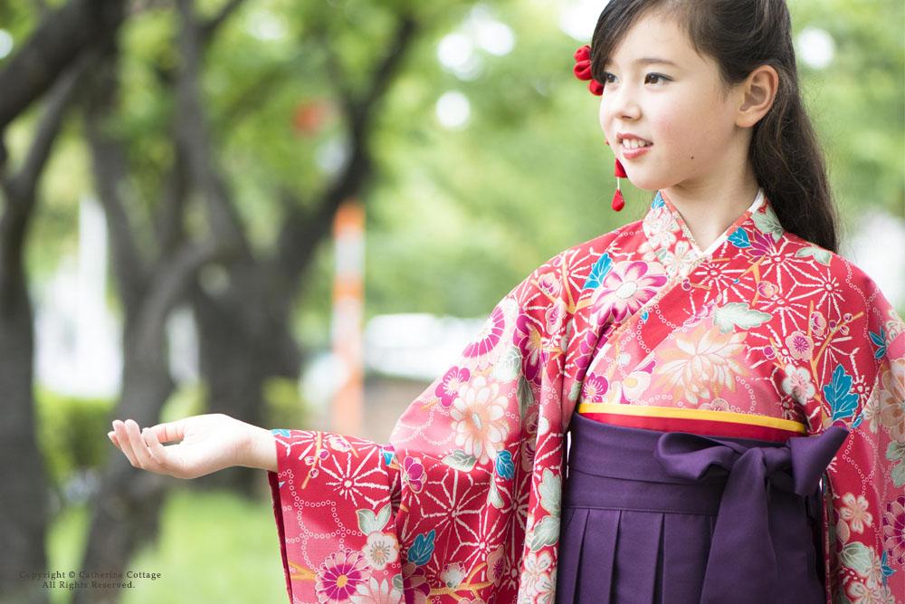 袴 卒園式