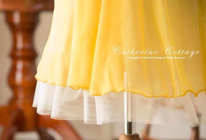 子供ドレス 裾 シフォン